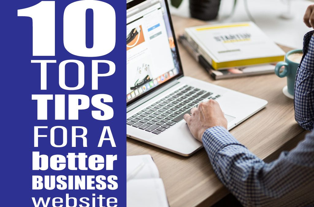 10 ways to make your business website better