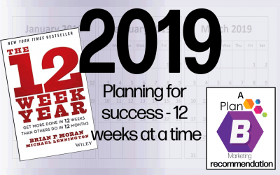 Planning for a successful year in business, 12 weeks at a time